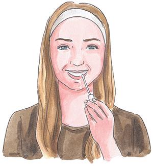 Hampaiden valkaisu kotikonstein